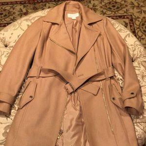Like new!!! Michael Kors nude coat